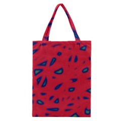 Red neon Classic Tote Bag