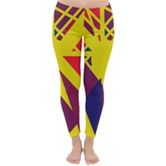 Hot abstraction Winter Leggings