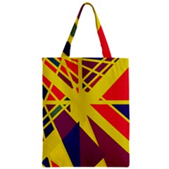 Hot abstraction Zipper Classic Tote Bag