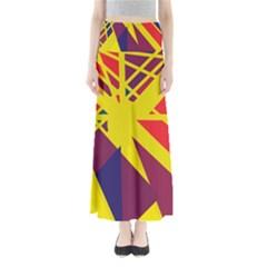 Hot Abstraction Maxi Skirts
