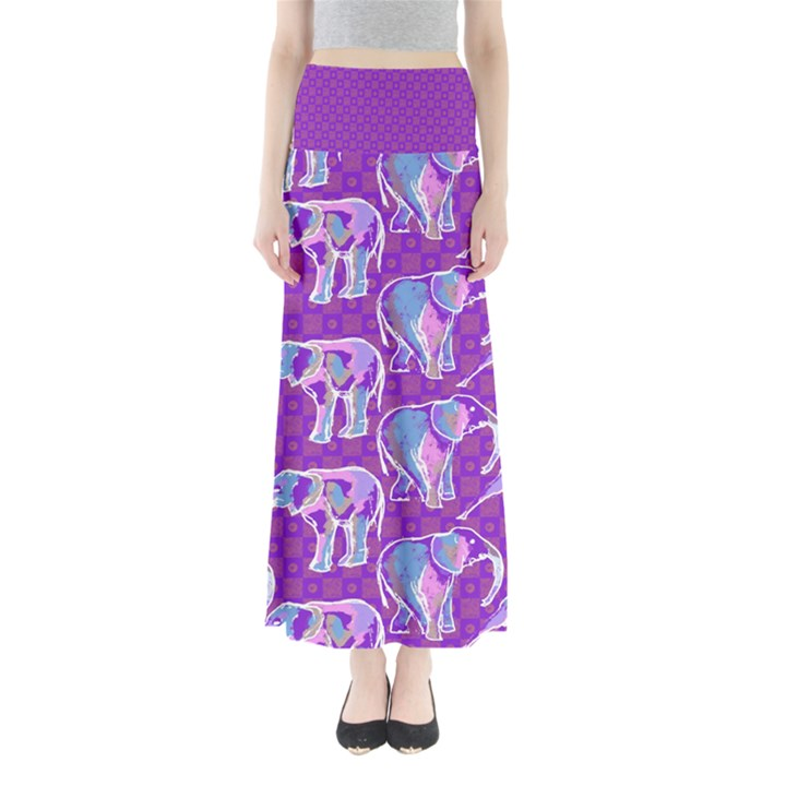 simple-pattern Women s Maxi Skirt