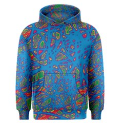 Colorful neon chaos Men s Pullover Hoodie