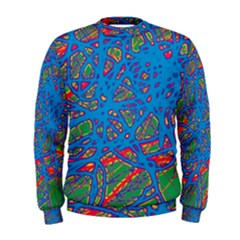 Colorful neon chaos Men s Sweatshirt