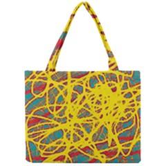 Yellow neon Mini Tote Bag