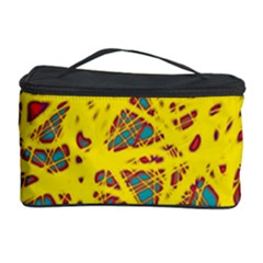 Yellow neon Cosmetic Storage Case
