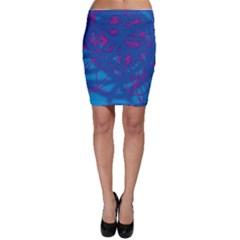 Deep blue Bodycon Skirt