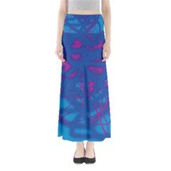 Deep Blue Maxi Skirts