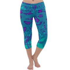 Chaos Capri Yoga Leggings