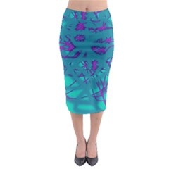 Chaos Midi Pencil Skirt