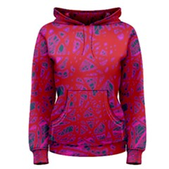 Red neon Women s Pullover Hoodie