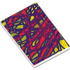 Abstract high art Large Memo Pads