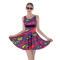 Abstract high art Skater Dress