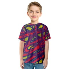 Abstract high art Kid s Sport Mesh Tee