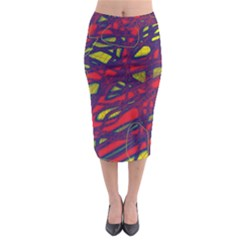Abstract high art Midi Pencil Skirt