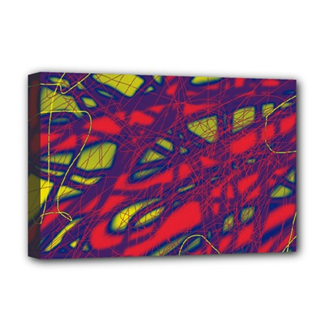 Abstract high art Deluxe Canvas 18  x 12