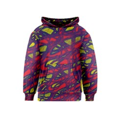 Abstract high art Kids  Pullover Hoodie