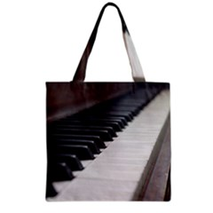 Piano Keys  Grocery Tote Bag