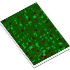 Green  Large Memo Pads