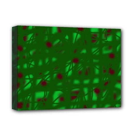Green  Deluxe Canvas 16  x 12