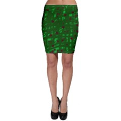 Green  Bodycon Skirt