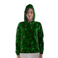 Green  Hooded Wind Breaker (Women)