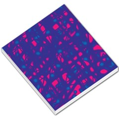 Blue and pink neon Small Memo Pads