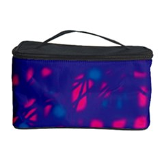 Blue and pink neon Cosmetic Storage Case