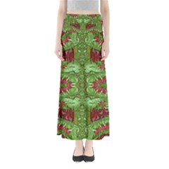 Bleeding Hearts Forest Maxi Skirts