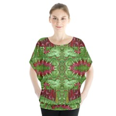 Bleeding Hearts Forest Blouse