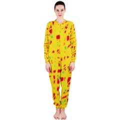 Yellow and red OnePiece Jumpsuit (Ladies)
