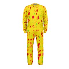 Yellow and red OnePiece Jumpsuit (Kids)