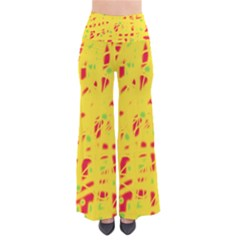 Yellow And Red Pants