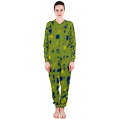 Green and blue OnePiece Jumpsuit (Ladies)