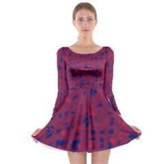 Decor Long Sleeve Skater Dress