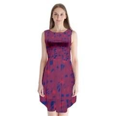 Decor Sleeveless Chiffon Dress