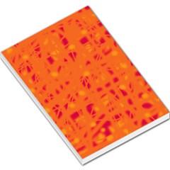 Orange Large Memo Pads