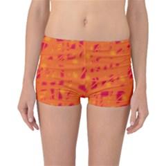 Orange Boyleg Bikini Bottoms