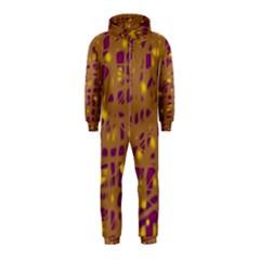 Brown and purple Hooded Jumpsuit (Kids)