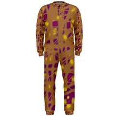 Brown and purple OnePiece Jumpsuit (Men)