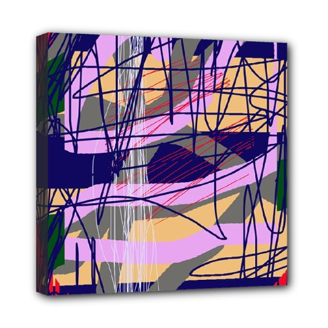 Abstract high art by Moma Mini Canvas 8  x 8