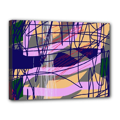 Abstract high art by Moma Canvas 16  x 12