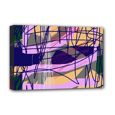 Abstract high art by Moma Deluxe Canvas 18  x 12