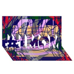 Abstract high art by Moma #1 MOM 3D Greeting Cards (8x4)