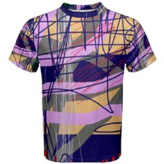 Abstract high art by Moma Men s Cotton Tee