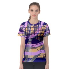 Abstract high art by Moma Women s Sport Mesh Tee