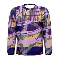 Abstract high art by Moma Men s Long Sleeve Tee