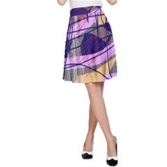 Abstract high art by Moma A-Line Skirt