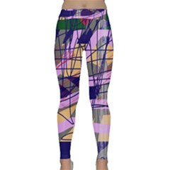 Abstract high art by Moma Yoga Leggings