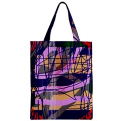 Abstract high art by Moma Zipper Classic Tote Bag