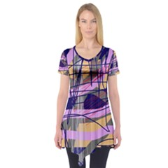 Abstract high art by Moma Short Sleeve Tunic